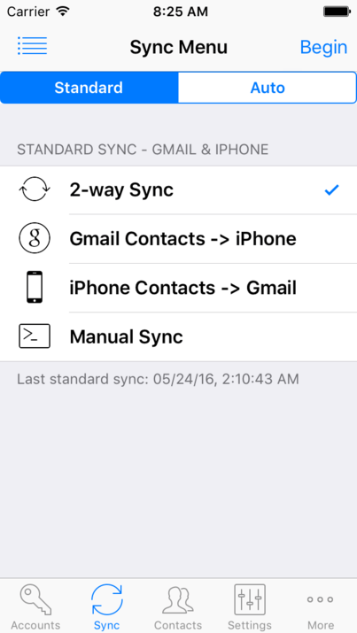 Contacts Sync for Google Gmail - #1 App For Syncing Gmail